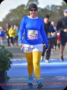 half finish line