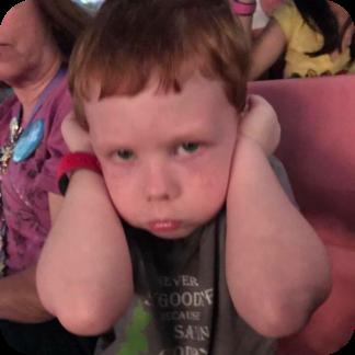little J is not a fan of the music