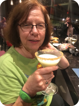 mom and her martini