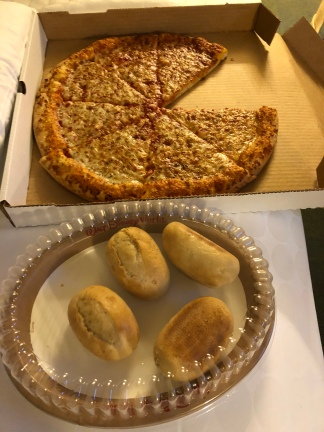 Rolls and pizza!!