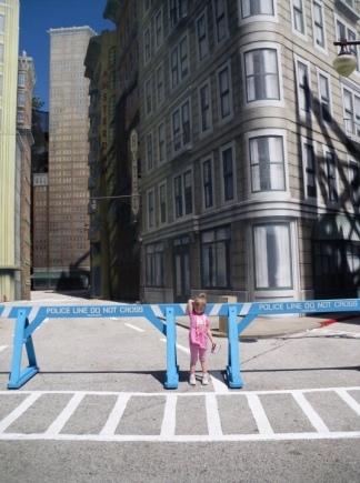 My little K on Streets of America